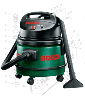 Bosch Vacuum Repair Parts