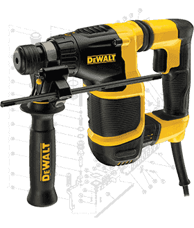 DeWalt Hammer Drill Repair Parts