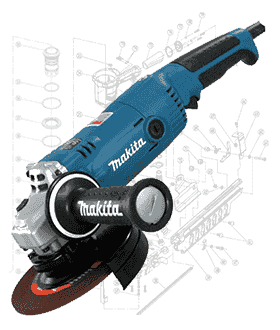 Makita Grinder Repair Parts