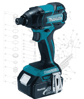 Makita Impact Driver Repair Parts